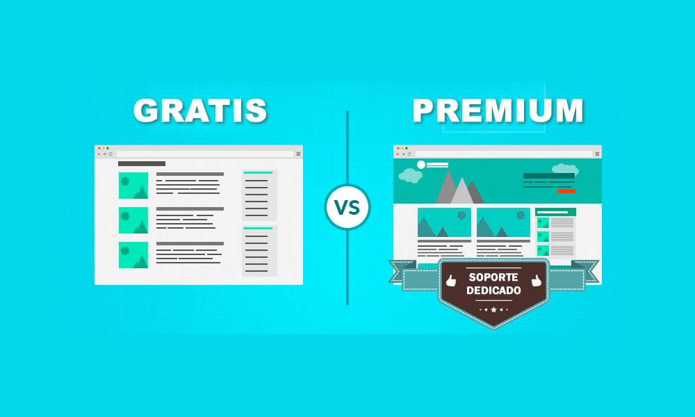 Temas WordPress Gratuitos vs. Premium (Pros y Contras) | CRSolutions